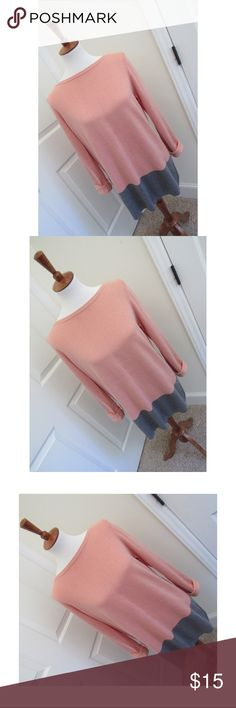 LOFT oversized colorblock sweater - Size large. Brand new condition with zero flaws.  - I don't trade or sell outside of posh. - I ship every single day!  - All items come from a smoke free home!  - If you have anymore questions just let me know and I would be happy to help! 🙂 LOFT Sweaters Crew & Scoop Necks