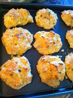 Homeade Cheddar Bay Biscuits...  Red Lobster's Recipe