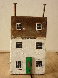 ♥ [driftwood house]