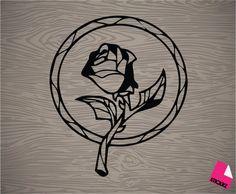 beauté et le sticker decal vinyle rose de bête par Stickrz sur Etsy
