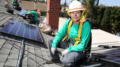 Rocio Farias, 32, is a solar panel installer at the Chatsworth, Calif., office of SolarCity.  Q.Tell me about your job.  A. I supervise six...