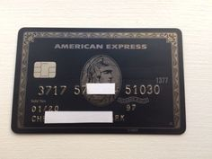 American Express Black Centurion Card