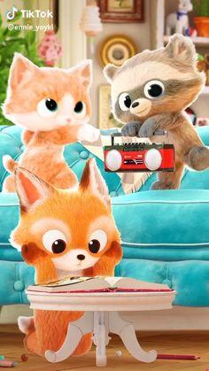 Cute Pastel Wallpaper, Cute Disney Wallpaper, Cute Cartoon Wallpapers, Funny Short Videos, Funny Animal Videos, Good Morning Video Songs, Snoopy Happy Dance, Gif Lindos, Iphone Wallpaper Video