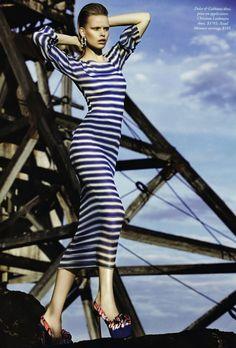 cool Harper\'s Bazaar Austrália   Editorial Moda Março 2013   Marleen Gaasbeek por Simon Upton