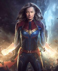 This looks dope! • Edit b Marvel Comics, Marvel Art, Marvel Heroes, Marvel Avengers, Female Marvel Superheroes, Marvel Universe, Captain Marvel Trailer, Captain Marvel Carol Danvers, Marvel Wallpaper