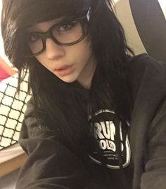 """[ fc: lexie gene and leda muir ] """"hey... m-my names leda.... im really shy... I just moved here from Virginia. I like cats and cuddles. I'm sixteen, single, and lesbian.... Intro?"""""""