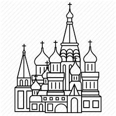World Travel Nursery Theme Book Drawing, Drawing For Kids, Saint Basile, Miyazaki, Russian Criminal Tattoo, St Basils Cathedral, St Basil's, Skyline Design, City Icon