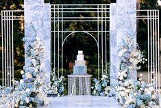 Wedding Stage, Wedding Ceremony, Elegant Wedding, Boho Wedding, Around The World Theme, Balloon Backdrop, Photo Boards, Floral Arch, Wedding Background