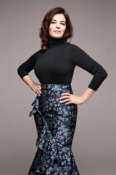 Nigella Lawson models autumn fashion | The Times Magazine | The Times