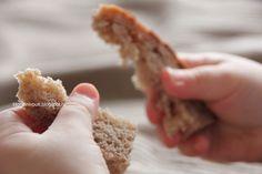 воздушный мякиш хлеба на двух заквасках