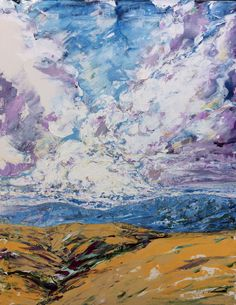 """""""Swartland Series""""  -Oil on canvas 1MX76cm (SOLD)"""