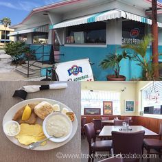 Since 1954 Gayle's Restaurant has been serving up hearty #Southern #breakfast in #stpetebeach  #catfish #grits #eggs #biscuit #liveamplified #lovefl #Florida #gulfofmexico #breakfastallday