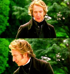 Can never have too much Alan Rickman. Mmmm, Colonel Brandon...