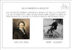 Inventor de la bicicleta.