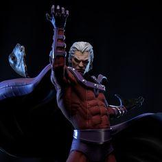 ArtStation - Marvel Magneto_Fan Art for 3D Print, Daniel Bel