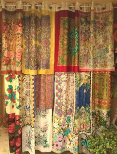 RUBAIYAT - Bohemian Gypsy Curtains by Babylon Sisters