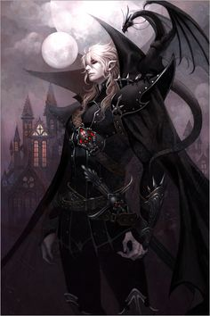 (open rp) I stumbled across the old burielground of a vampire that lived by my village long ago. what I didn't realize, is that the vampire was still active and he kidnapped me when I was not paying attention Dark Fantasy Art, Fantasy Artwork, Character Inspiration, Character Art, Bel Art, Vampire Art, Male Vampire, Image Manga, Dark Elf