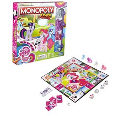 Monopoly Junior My Little Pony Friendship is Magic Edition Game