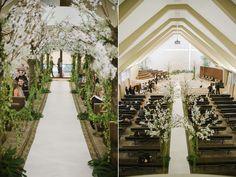 decoração na igreja – casamento Juliana & Marcelo | Lápis de Noiva