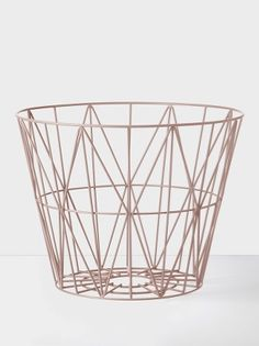 Wire Basket - Rose - Large