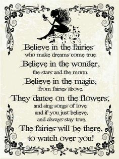 Fairies poem