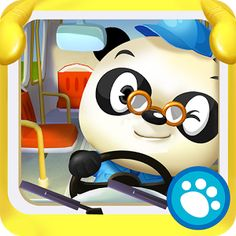 SQUEE! Look what's FREE! Dr Panda's Bus Driver (best Android kids apps)