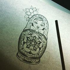 matryoshka tattoo - Recherche Google