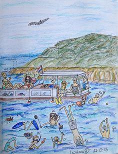 Boat trip in Kroatië