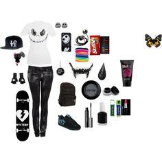 Skater Girl outfit 2