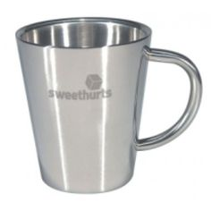 Promotional Metal Veneto Mug Branded Gifts, Coffee Staining, Promotion, Stains, How To Apply, Stainless Steel, Cleaning, Mugs, Metal