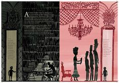 Full spread from the invisible kingdom - Rob Ryan