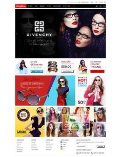 Gala Sunglasses Responsive Magento Theme brings you more chance to be successful in fashion industry. It includes all potential factors to be an attractive website, remarkable design and a desirable destination. Our designers aim to create elegant and eye-catchy layout to deliver you the best shopping solution.