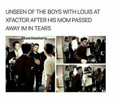 I love this picture so much .it is great to see the boys supporting Louis through his tough time>>>>>>>soz but I see Larry Stylinson One Direction Quotes, One Direction Imagines, One Direction Harry, One Direction Pictures, 5sos, Normal Guys, My Sun And Stars, Boy Bands, Diy Tv
