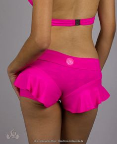Bedazzled Hotpants- pink