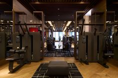 Hotel The Chedi in Andermatt, Switzerland - White Blancmange Chedi Hotel, Andermatt, Gym Lockers, Home Gym Design, Beautiful Hotels, Wellness Fitness, Hotel Spa, Hotel Reviews, Good Night Sleep