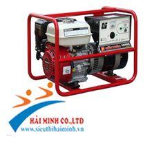 http://sieuthidienmaychinhhang.vn/vi/san-pham/may-phat-dien-honda-sh4500-3kva-399.html Máy phát điện Honda SH4500 - 3kva Tần số: 50 / 60 Hz Kiểu: Tự kích từ, 2 cực, từ trường quay Điện áp xoay chiều: 220 / 240 Hz Công suất liên tục: 3.0 / 3.3 KVA Công suất tối đa: 3.3 / 3.7 kVA Kiểu điều chỉnh điện áp: Tụ điện Hệ số công suất: 1.0 Số pha: 1 Model: GX270 Kiểu: Động cơ 4 thì, kiểu OHV, làm mát cưỡng bức bằng gió, 01 xi lanh Đường kính x khoảng chạy77x58 Dung tích xi lanh: 270 cc Tốc độ quay…