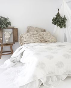 Losari Home & Woman - Kalyana & Indrani Macrame Cushions && Anoushka Summer Quilt and Lace Horn losari.com.au #losarihome #losarihomeandwoman #losari #soulmoment #whitehome #whiteonwhite #texture #interiordesign #styling #home #boho #bohohome #tribalhome #tribal #homesweethome #soulmoment #onlineshopping #handmade #ourpeople #treasures #macrame #floorcushions #macramecushions #comfort #bedding #snuggle