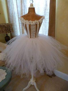Vintage Inspired Dress Form Mannequin Wasp Waist Fashion Designer Ballet Lace Keepsake Corset Free Ship & Layaway Available.  via Etsy.