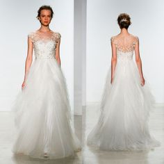 2015 wedding dress trend: surprising back details - 9 gowns that are even more gorgeous from behind
