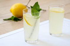 Orange blossom lemonade.  I SO want to try this.  Need to find some orange blossom water.
