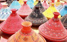 Colourful and Printed Tajins