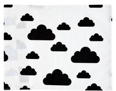 Items similar to Black Clouds - Baby and Kids Bedding on Etsy