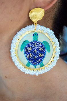 Crochet Earrings, Jewelry, Fashion, Handmade Jewelry, Hand Made, Funny Old Ladies, Handmade Accessories, Stud Earrings, Moda