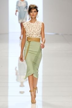 Ermanno Scervino at Milan Fashion Week Spring 2012