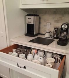 Don't you love this little coffee area?