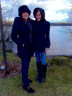 Photo of Rosanne Cash & her Daughter  Caitlin Rivers Crowell