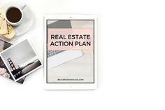 Real Estate Action Planner Real Estate Template by balderdashhouse
