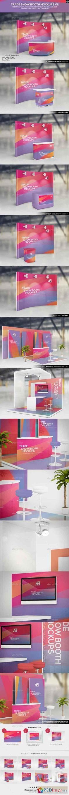 Trade Show Booth Mockups V2 11170591