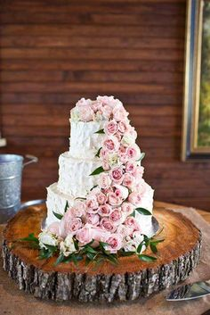 Love The Waterfall Of Roses From I Do Cakes In Augusta GA SimpleBliss
