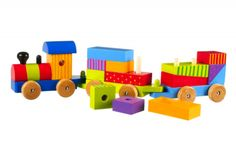 Buy Orange Tree Wooden Puzzle Train from our Wooden Toys range at John Lewis & Partners. Unique Diy Toys, Unique Gifts, Diy Toy Box, Toy Boxes, Wooden Puzzles, Wooden Toys, Wooden Building Blocks, Wooden Train, Creative Business